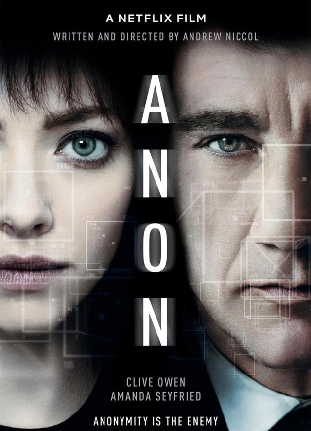 Anon 2018 | Watch full Movie video Online