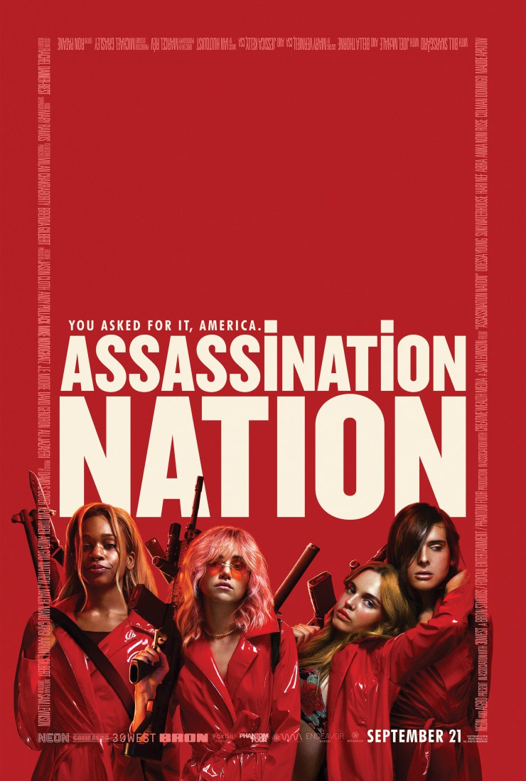 Assassination Nation (2018) Watch Full Video Free Online