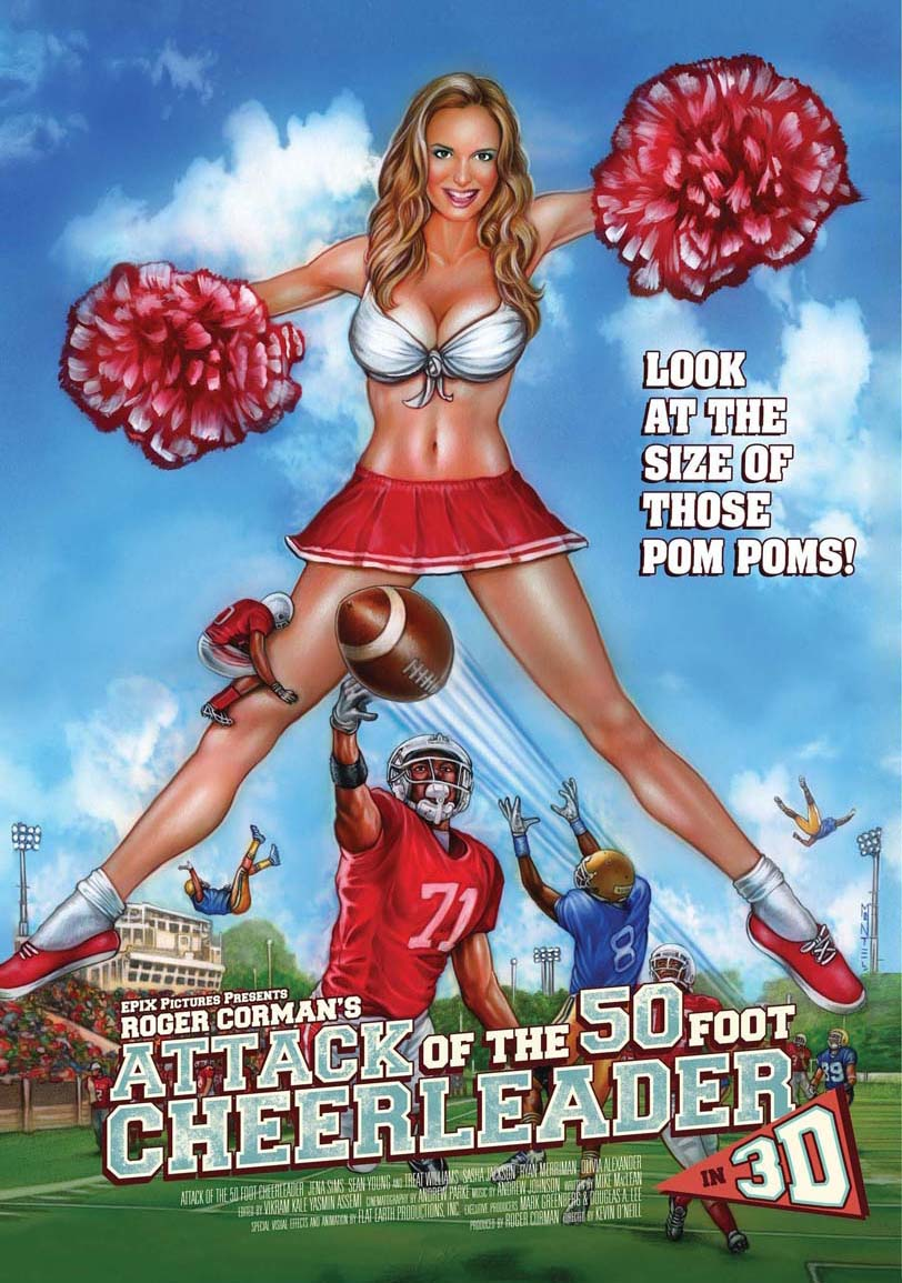 Attack of the 50ft Sexy Cheerleader Full Movie