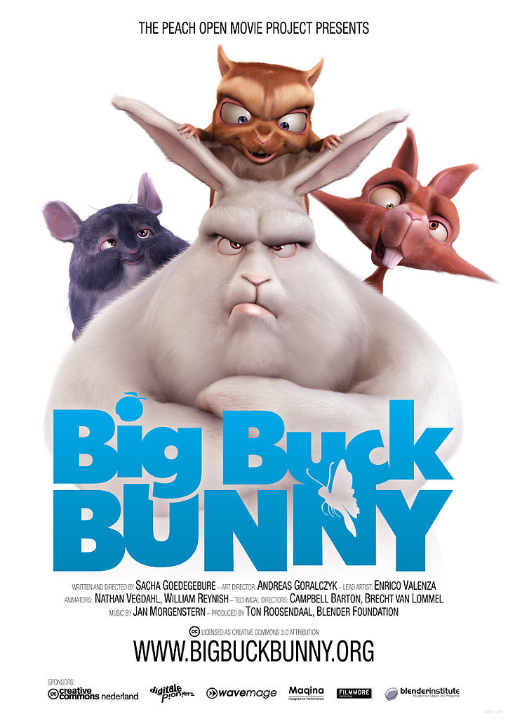 Big Buck Bunny - OFFICIAL | FULL MOVIE Animation Funny