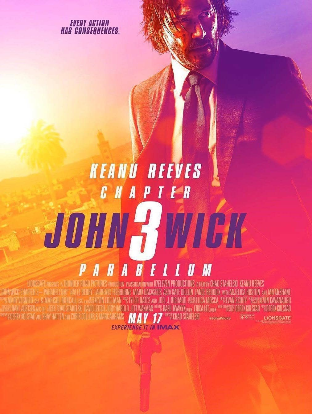 John Wick: Chapter 3 - Parabellum (2018) Full Movie Free Online