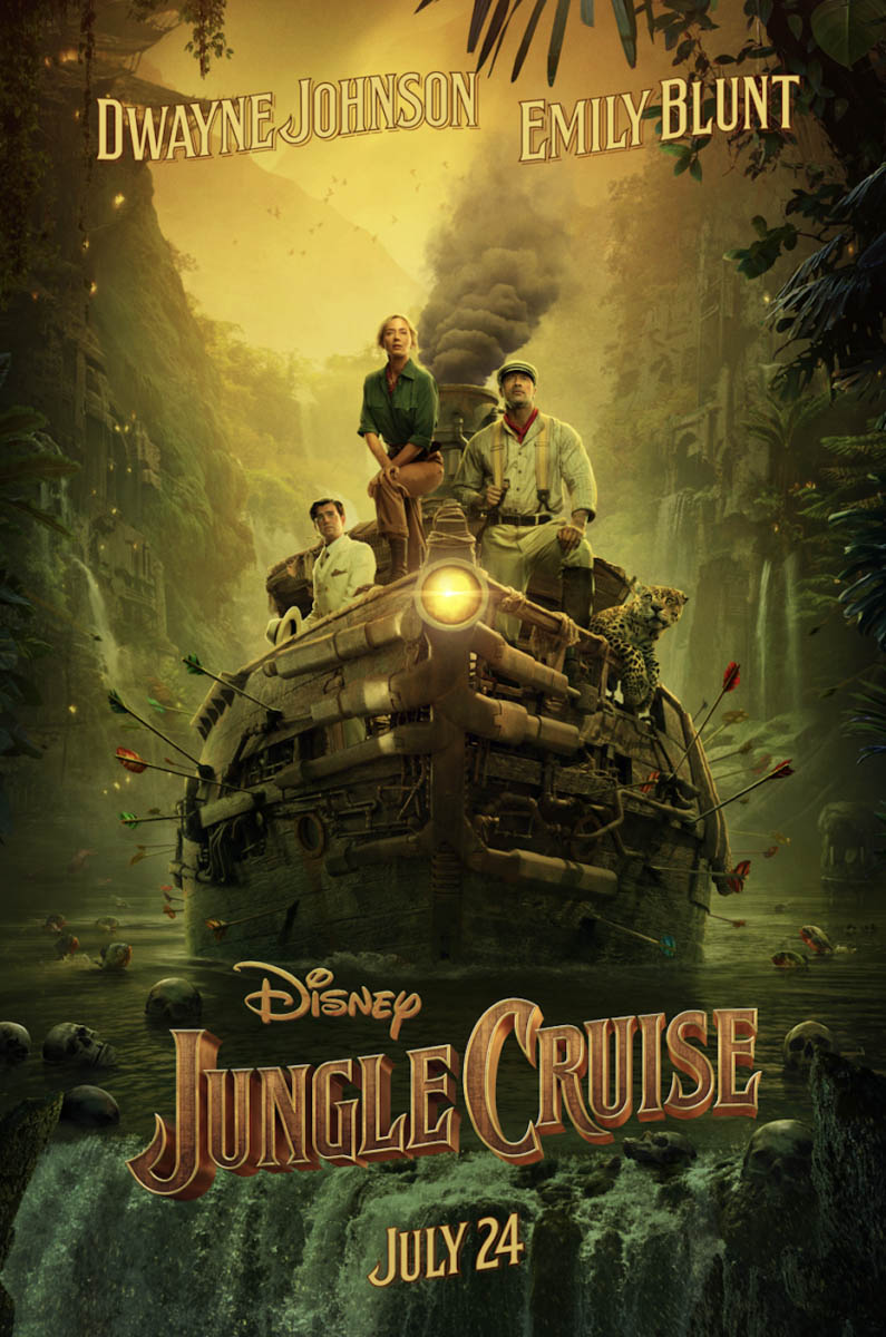 Jungle Cruise (2020) Movie poster Free Online