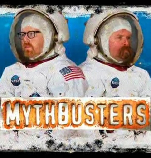 Mythbusters Moon Landing hoaxes