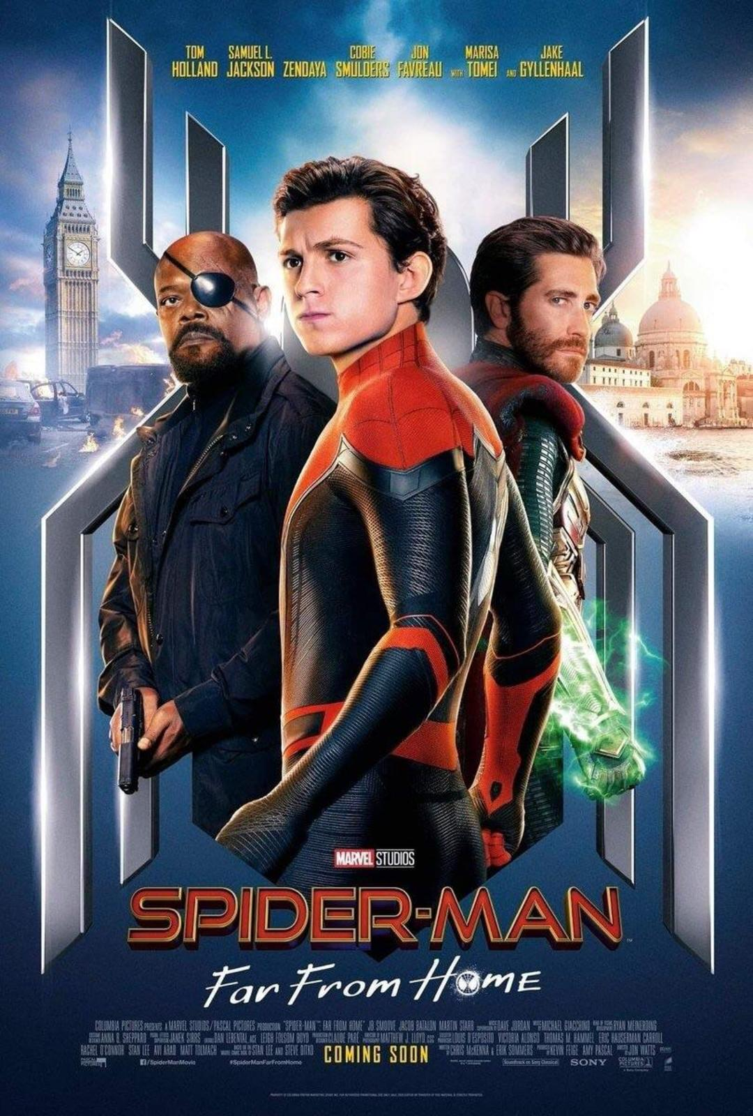 Spider-Man: Far From Home Movie Free Online