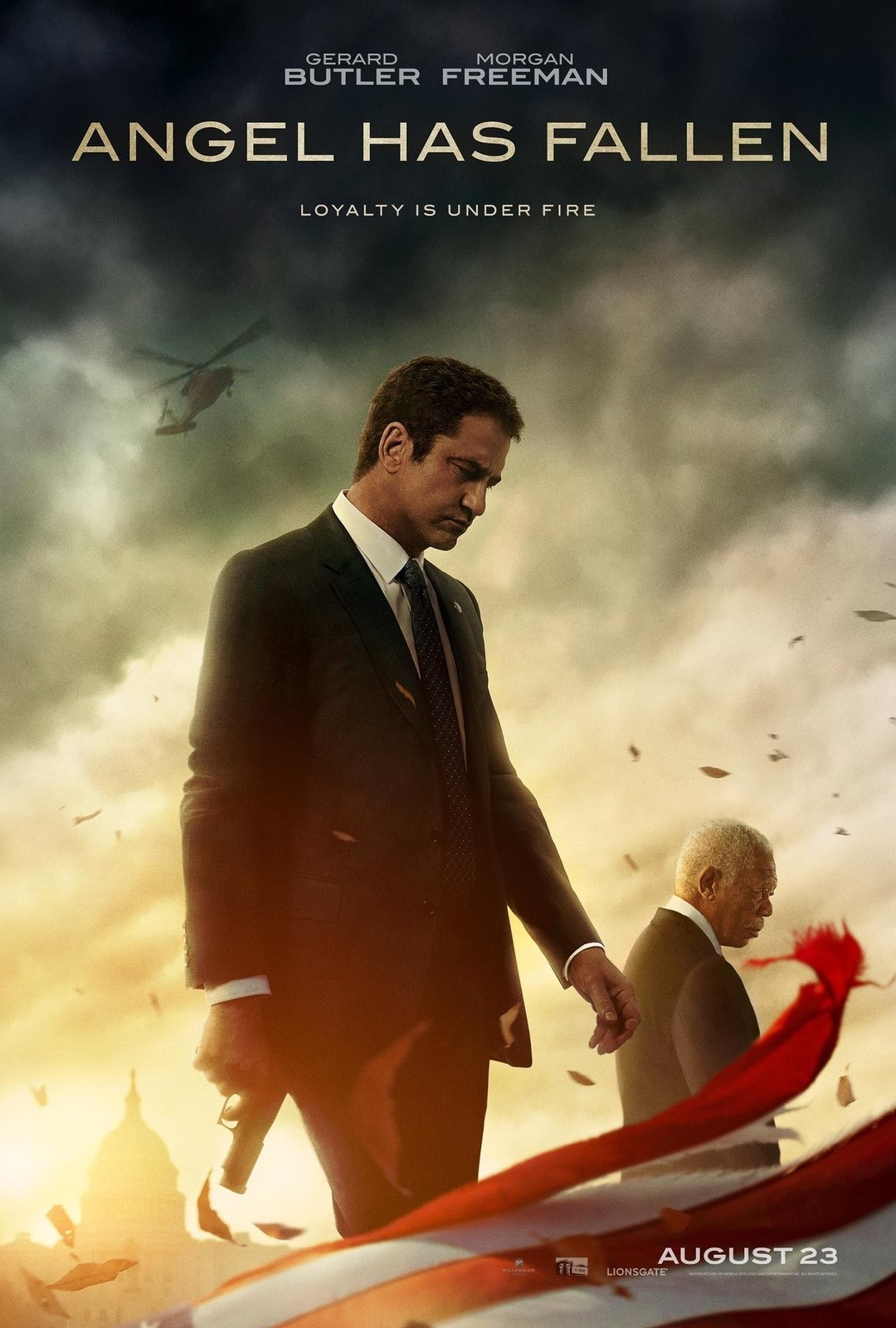 Angel Has Fallen (2019) magnificent amusement Full Movie Free Online