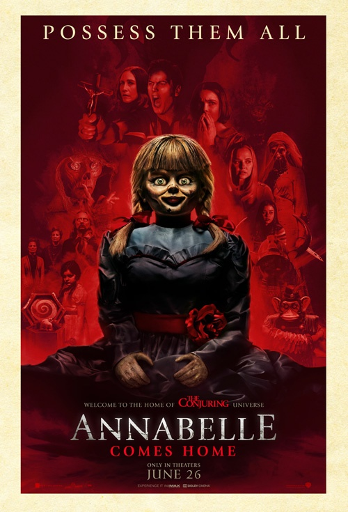 Annabelle Comes Home (2019) Official Full Movie Free Online