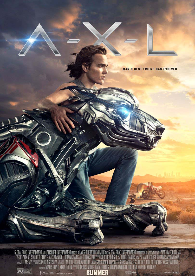 A.X.L. (2018) Official Full Movie Free Online