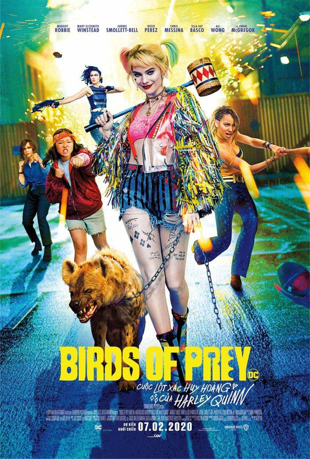 Birds of Prey: And the Fantabulous Emancipation of One Harley Quinn (2020) Movie poster Free Online