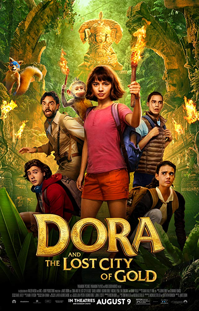 Dora and the Lost City of Gold (2019) Full Movie Free Online