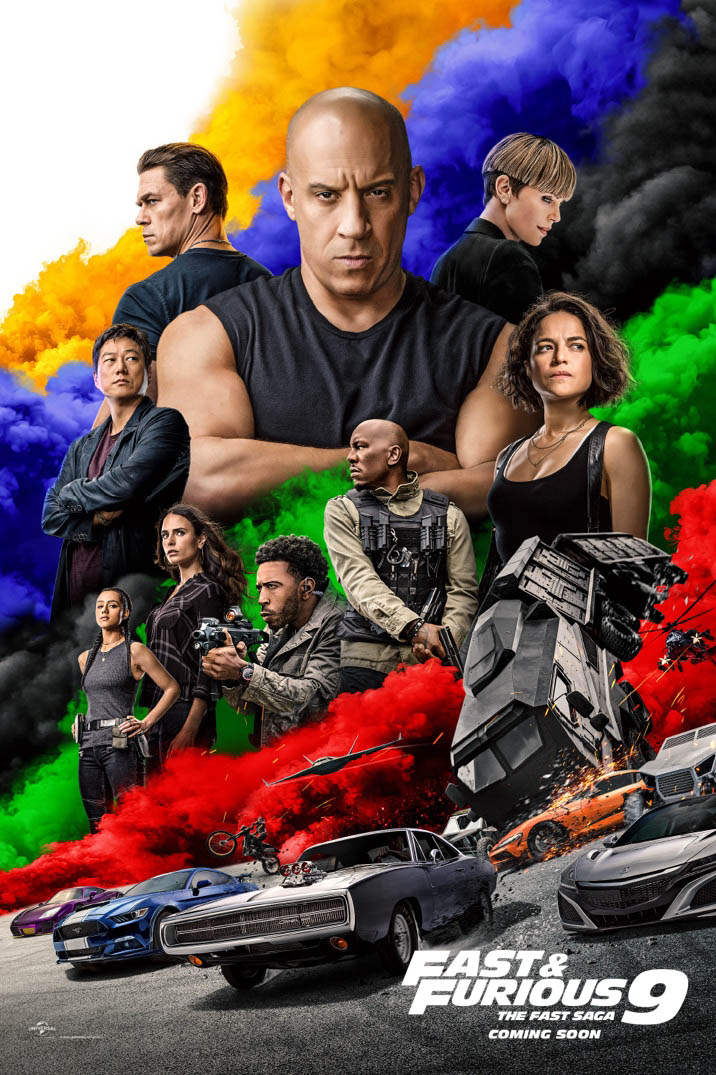Fast & Furious 9 (2021) Movie poster Free Online