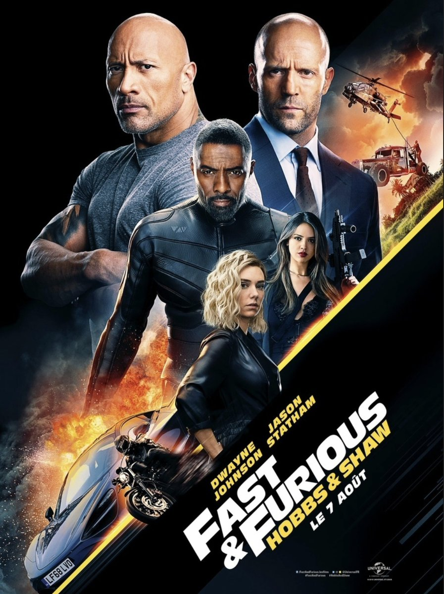 Fast & Furious Presents: Hobbs & Shaw 2019 Full Movie Free Online