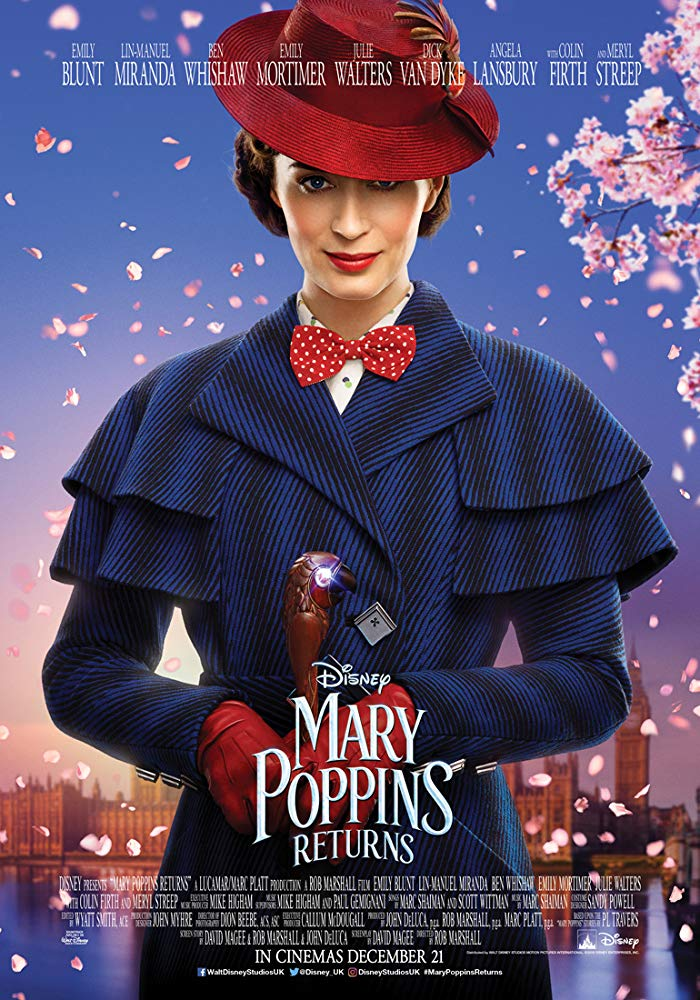 Mary Poppins Returns (2018) Official Full Movie Free Online