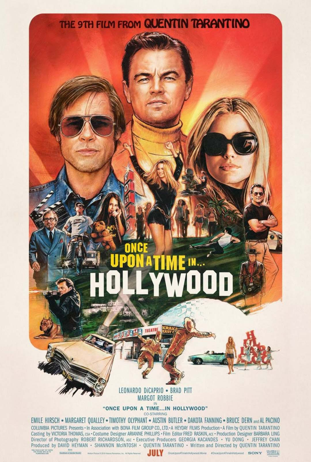 Once Upon a Time in Hollywood Movie Free Online