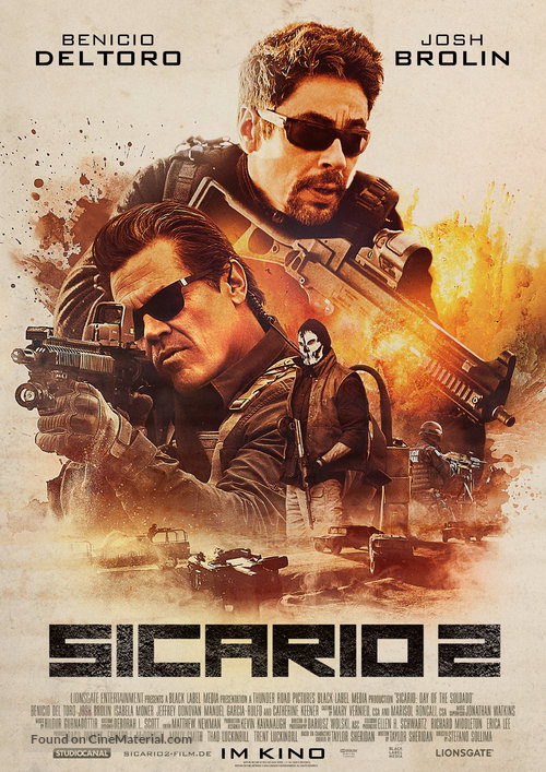 Sicario: Day Of The Soldado (2018) Full Movie Free Online