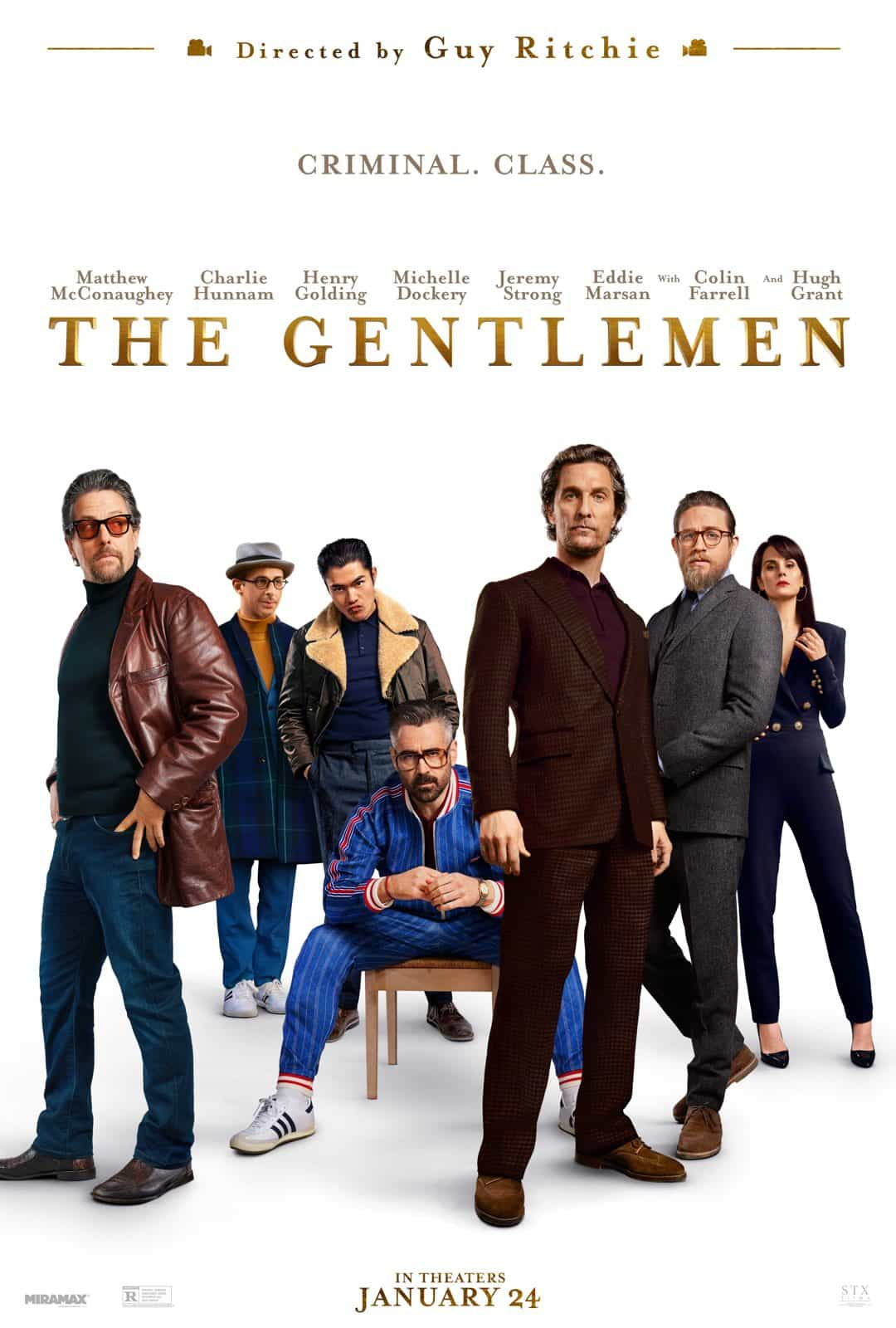 The Gentlemen 2020 A British drug lord tries to sell off his highly profitable empire to a dynasty of Oklahoma billionaires.