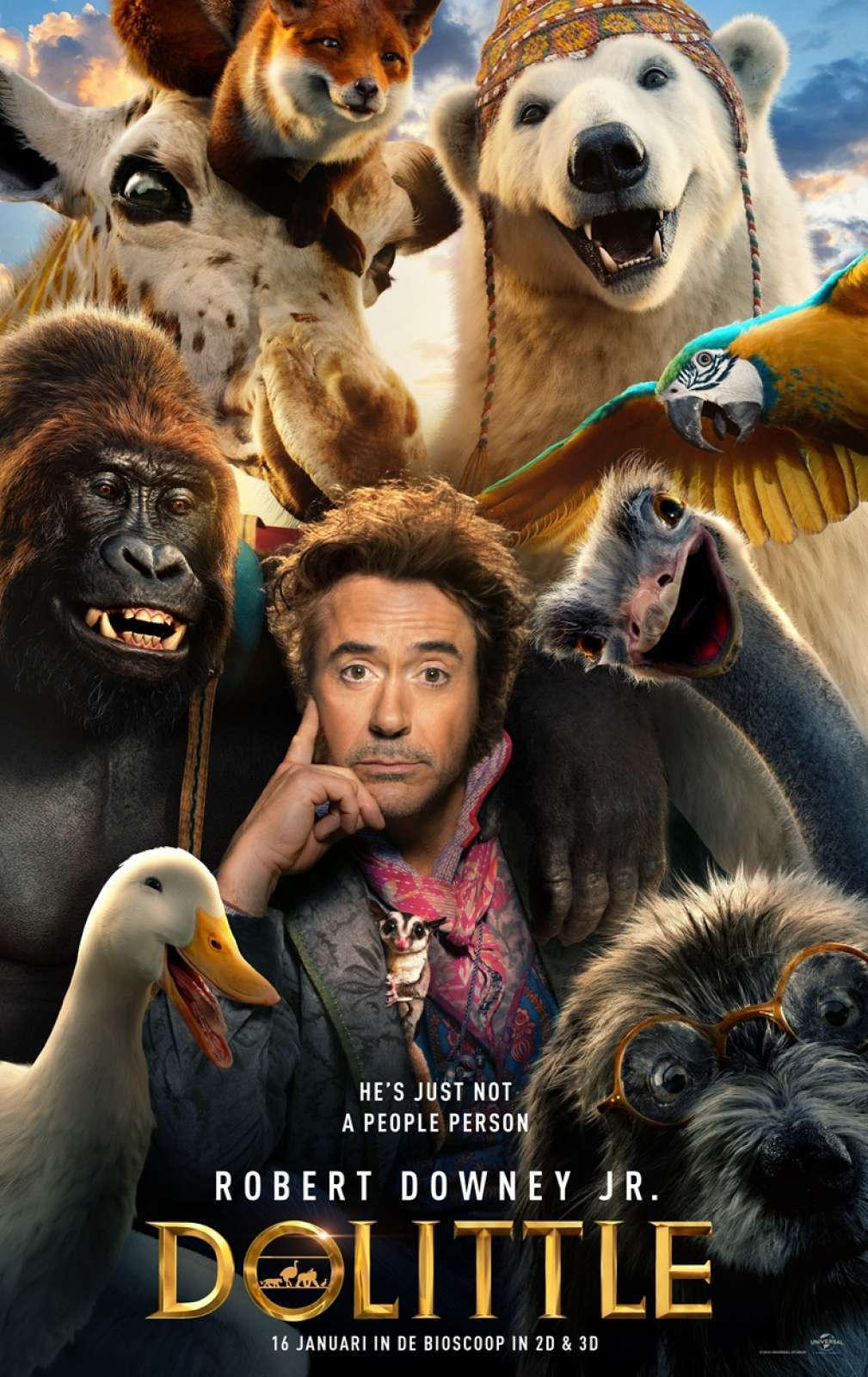 The Voyage of Doctor Dolittle Movie 2020 Free Online