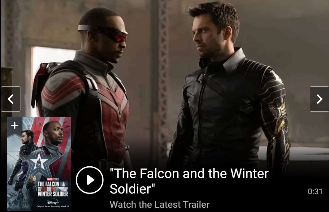 The Falcon and The Winter Soldier Final Trailer Marvel Studios HD