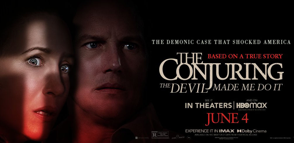 THE CONJURING: THE DEVIL MADE ME DO IT – Official Trailer drops