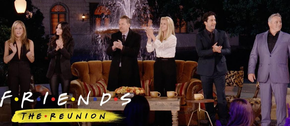 NEW Friends Series The Reunion the Official Trailer Video from HBO Max 2021