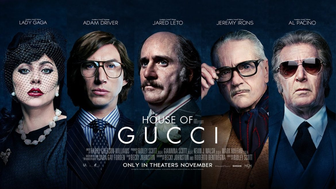 HOUSE OF GUCCI a Ridley Scott movie featuring Lady GaGa, Adam Driver and AL Pacino – Official Trailer (Universal Pictures)