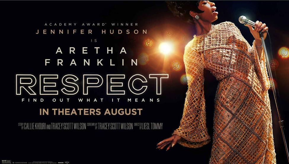 """Jennifer Hudson as Aretha Franklin Performs """"Respect"""" The life story"""