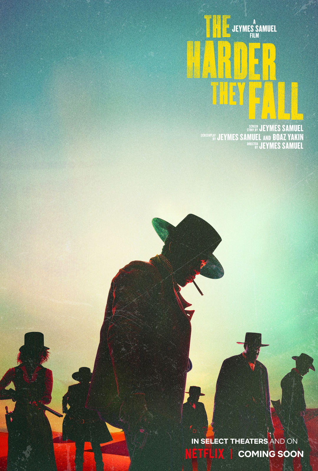 The Harder They Fall, poster, Netflix
