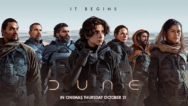 DUNE movie release Final Trailer just days before cinema release