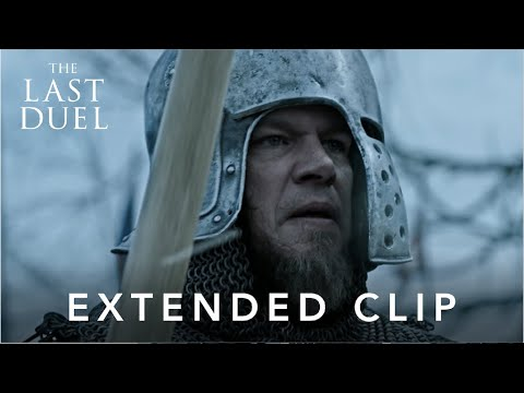 The Last Duel | Getting Ready – Extended Scene in Cinemas October